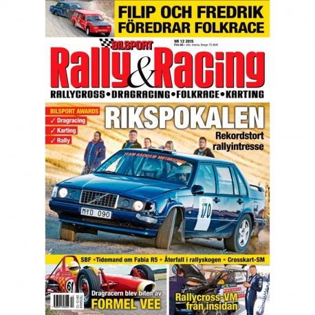 Bilsport Rally&Racing nr 12 2015
