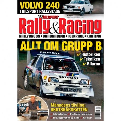 Bilsport Rally&Racing nr 3 2016