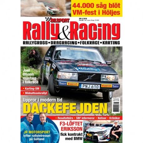 Bilsport Rally&Racing nr 8 2016