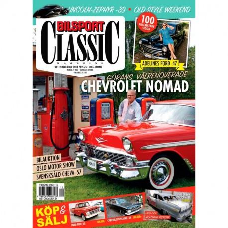Bilsport Classic nr 12 2018