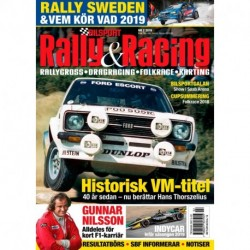 Bilsport Rally & Racing nr 2 2019