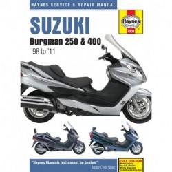 Suzuki Burgman 250 & 400 1998 - 2011