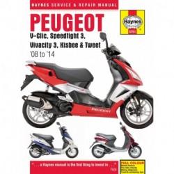 Peugeot V-Clic Speedfight 3 Vivacity 3 Kisbee & Tweet 2008 - 2014