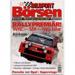 Bilsport Börsen nr 2  2004
