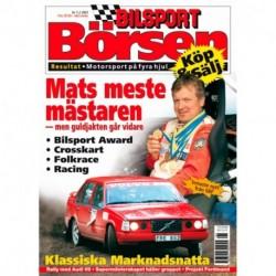 Bilsport Börsen nr 1  2003