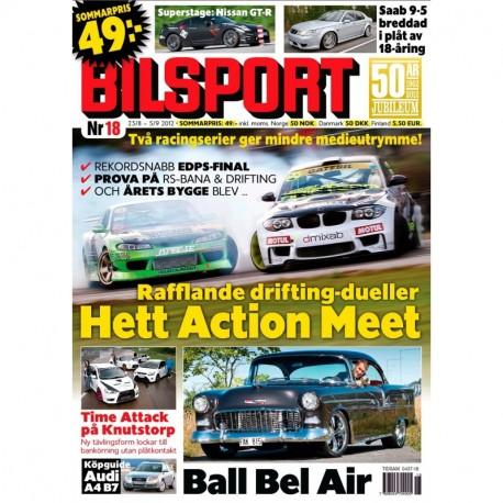 Bilsport nr 18 2012