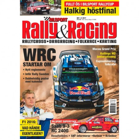Bilsport Rally & Racing nr 1 2017