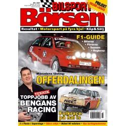 Bilsport Börsen nr 3 2007