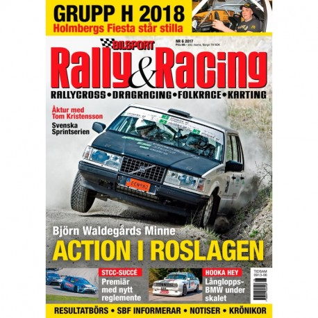 Bilsport Rally & Racing nr 6 2017
